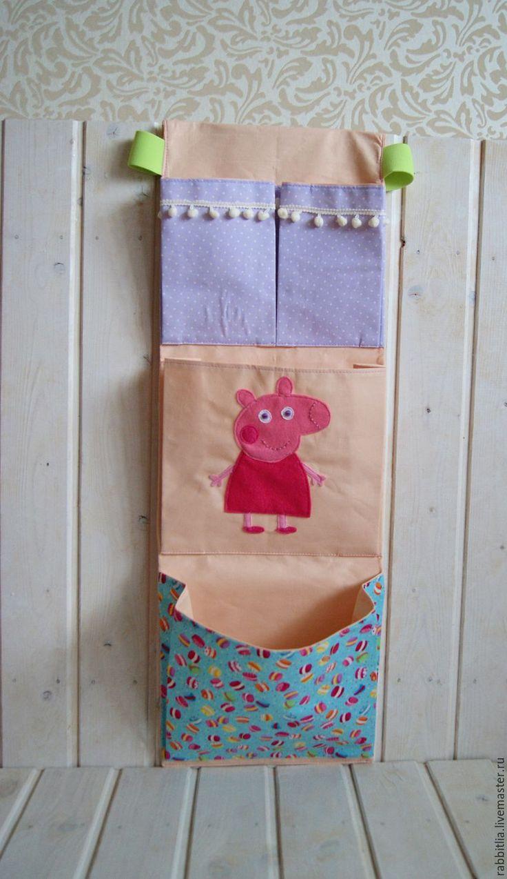 Купить Кармашки для Принцессы в детскую комнату / С именем / Именной подарок - розовый