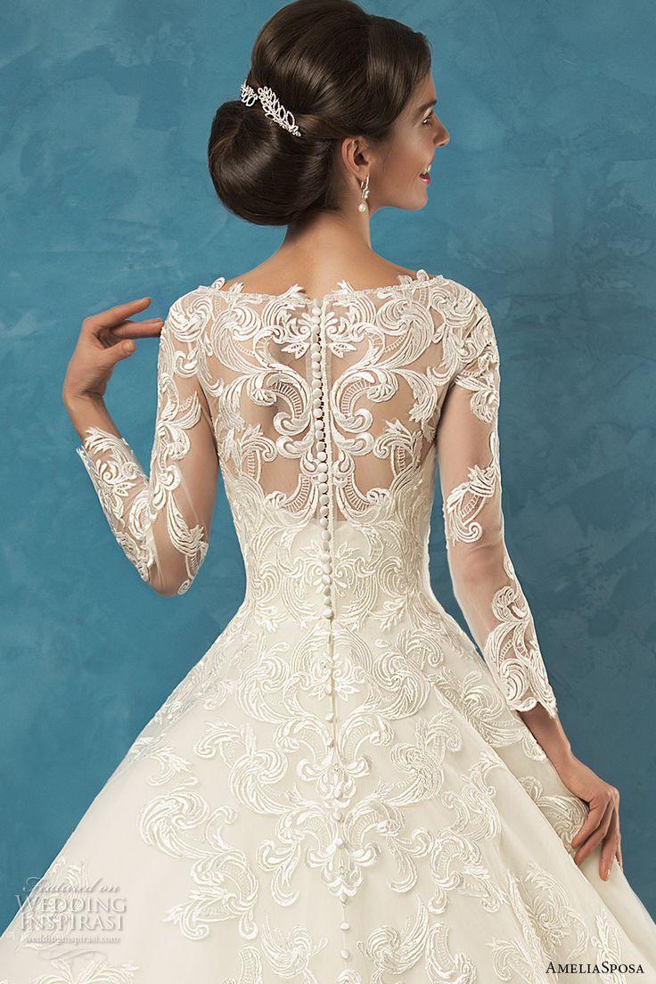 325 best Wedding Dresses images on Pinterest   Wedding frocks ...