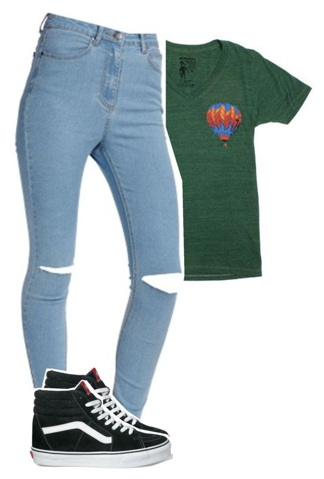 """Untitled #596"" by palemermaid ❤ liked on Polyvore featuring ODD FUTURE and Vans"