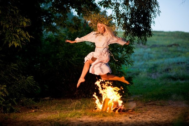 Kupala Night is celebrated in Ukraine, Belarus, Poland and Russia on the night of 6/7 July.