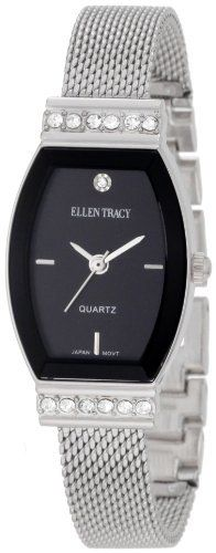 Ellen Tracy Women's ET5013STK Mesh Metal Band Watch Ellen Tracy. Save 50 Off!. $29.99