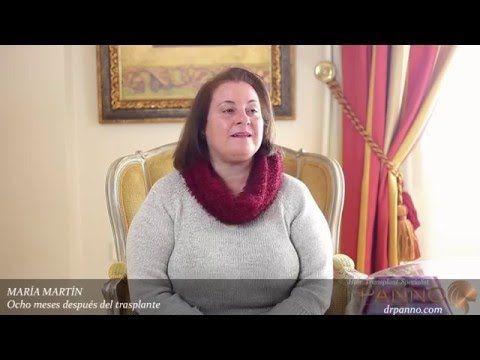 Testimonio de María Martín tras su trasplante de pelo. La #alopecia #femenina también es causa de consulta en la #clinica de #trasplantecapilar del #DrPanno