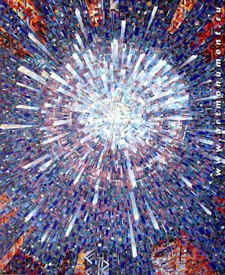 мозаичное панно Большой взрыв – #Большой #вз….