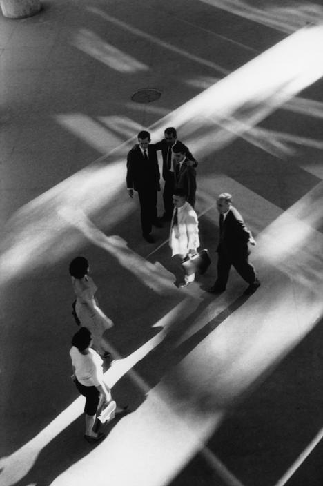 René Burri: Ministry of Health (layout by Oscar Neimeyer), Rio de Janeiro, 1960.
