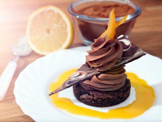 Carolines Chokladbonanza med Apelsinsås (kock Caroline Ahlqvist)