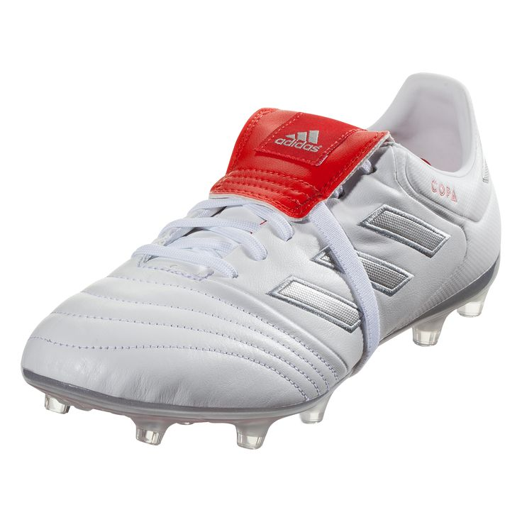 693b1a999cdc adidas Copa Gloro 17.2 FG Soccer Cleat - White/Silver/Red | Products |  Soccer Cleats, Cleats, Adidas