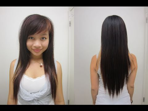13 best hair images on pinterest asian hairstyles big hair and how to ask for this hair cut few layers shortest at shoulders thin out bottom layers but keep the length v shape in the back urmus Gallery