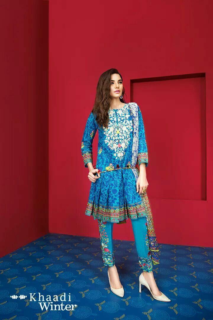 Pakistani casual wear by Khaadi
