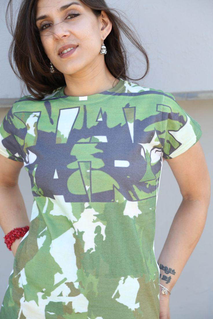 Star Wars 'Yoda Camo AOP' Ladies T-shirt by UrbanSpecies on Etsy https://www.etsy.com/listing/242868995/star-wars-yoda-camo-aop-ladies-t-shirt