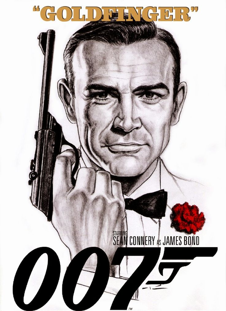 Goldfinger artwork by Patricio Carbajal.