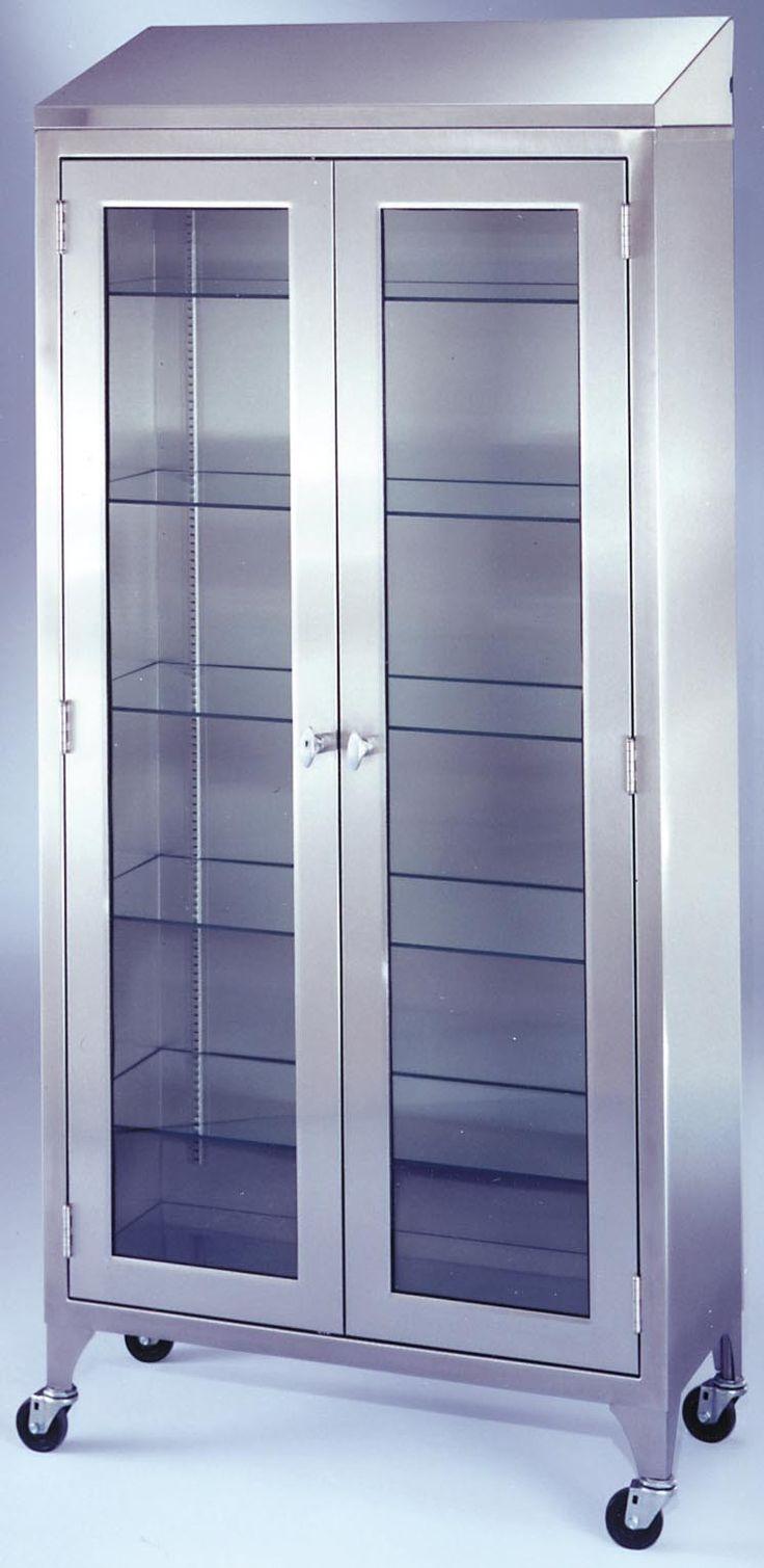 Standing Glass Shelves