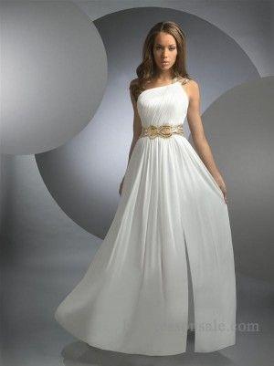 218 best White Prom Dresses images on Pinterest   Abendkleider ...