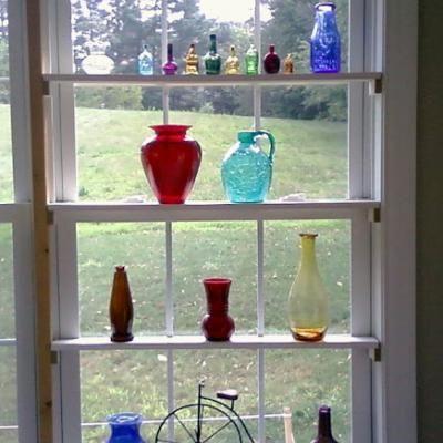 Window Shelves {Window Fashions}