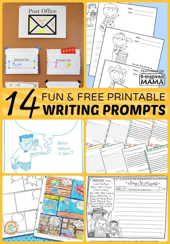 journal writing prompts for kids 60 narrative writing prompts for kids posted on june 25, 2013 by squarehead teachers 1 suppose you had invented a time machine write a story about what you did.