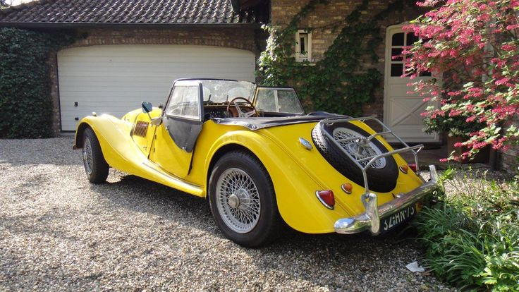 Morgan Sports Car Club Holland | Morgan +4 Super Sports uit 1968