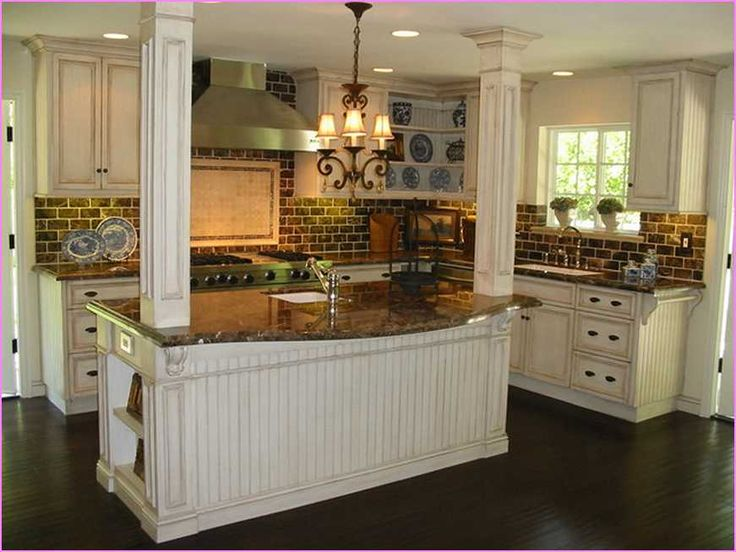 17 Best Ideas About Cream Colored Cabinets On Pinterest White Kitchen Cabin