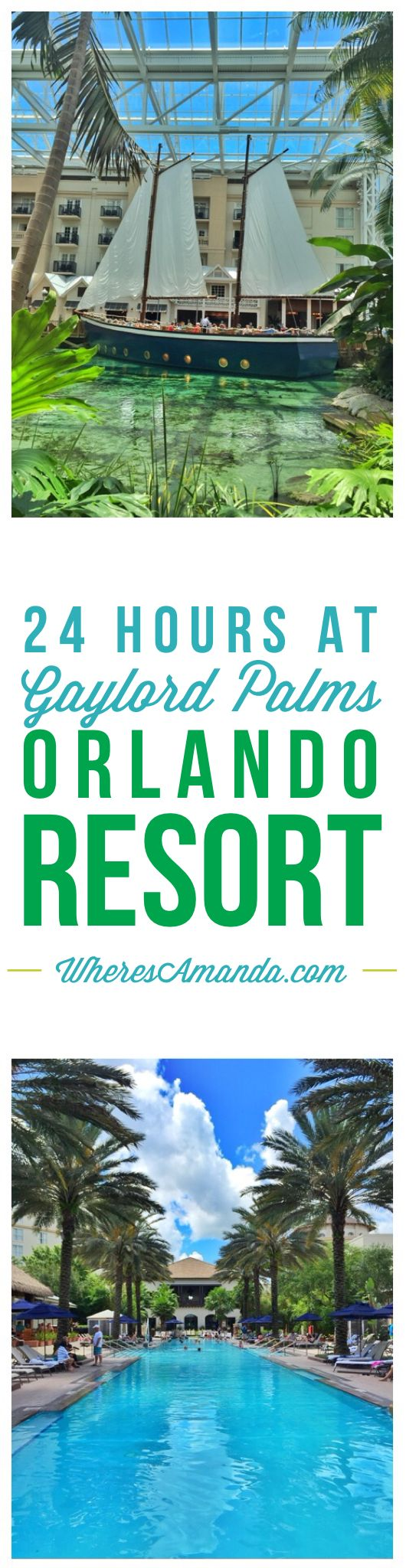 24 Hours at the Gaylord Palms Orlando Resort