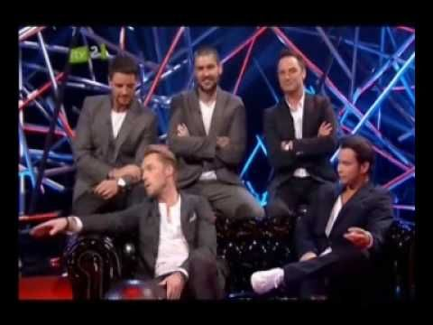 Boyzone on the Justin Lee Collins Show - 2/2