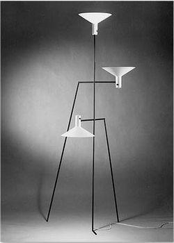 Alvin Lustig Custom Standing Light for Edgardo Contini 1949 (via MONDOBLOGO)