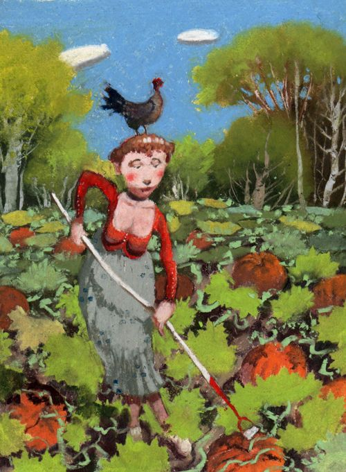 Richard Adams. The pumpkin patch 2011
