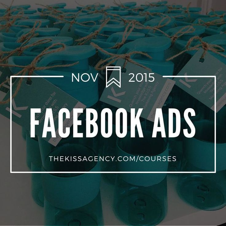 Facebook Ads For Beginners  //  This practical course is perfect for small business owners wanting to start Facebook advertising or current Facebook advertisers looking to refine their campaigns.  [Next course: Tuesday, 10 November - 9am to 1pm at K.I.S.S HQ - 9/17 Gerrale Street, Cronulla; $275 per person]   ⚠ Seats are limited. For more information or to register now, visit http://www.thekissagency.com.au/courses