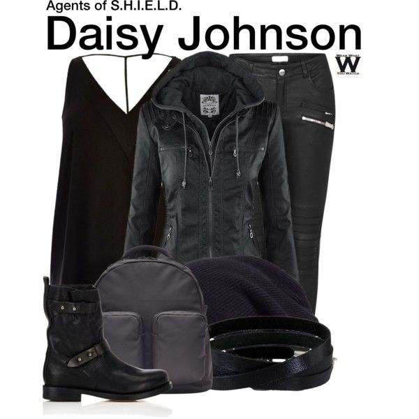Inspired by Chloe Bennet as Daisy Johnson on Agents of S.H.I.E.L.D.