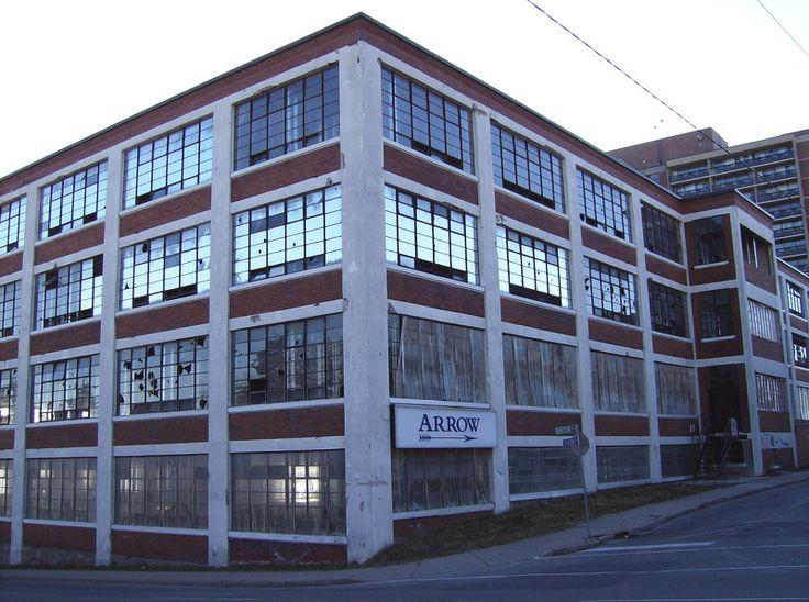 Arrow Shirt Factory Kitchener, Ontario, Canada.  Transformed into Loft style condos