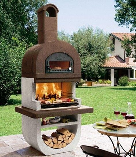 Oltre 25 fantastiche idee su forno in muratura su - Barbecue esterno ...