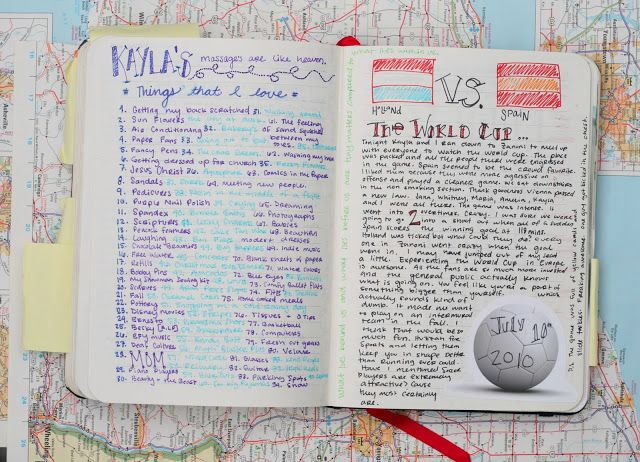 How to Write a Travel Journal That's Worth Reading