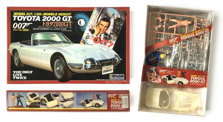 Resultado de imagen para 007 1964 model kits