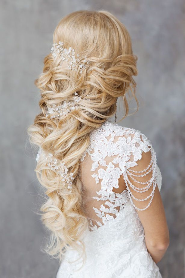 Super 1000 Ideas About Loose Curls Wedding On Pinterest Wedding Updo Short Hairstyles For Black Women Fulllsitofus