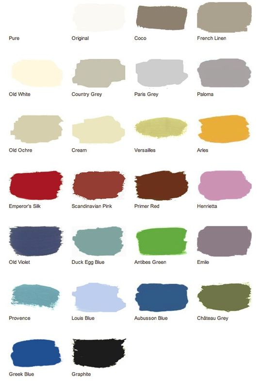 Color matches for annie sloan paint just b cause for Paint color match