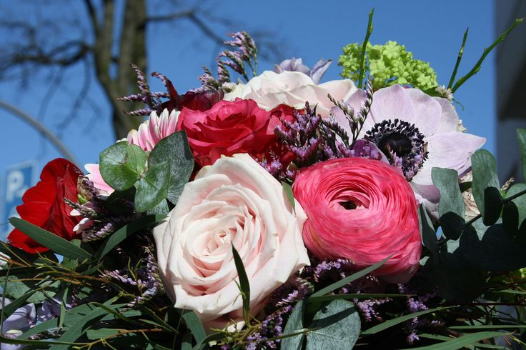 Rose, Ranunkel, Anemone, Foto Birgit Puck (mit Bildern