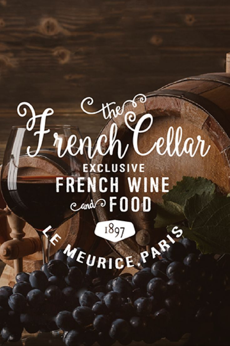 Branding, vintage logo design for a restaurant in Paris, France 'The French Cellar'.