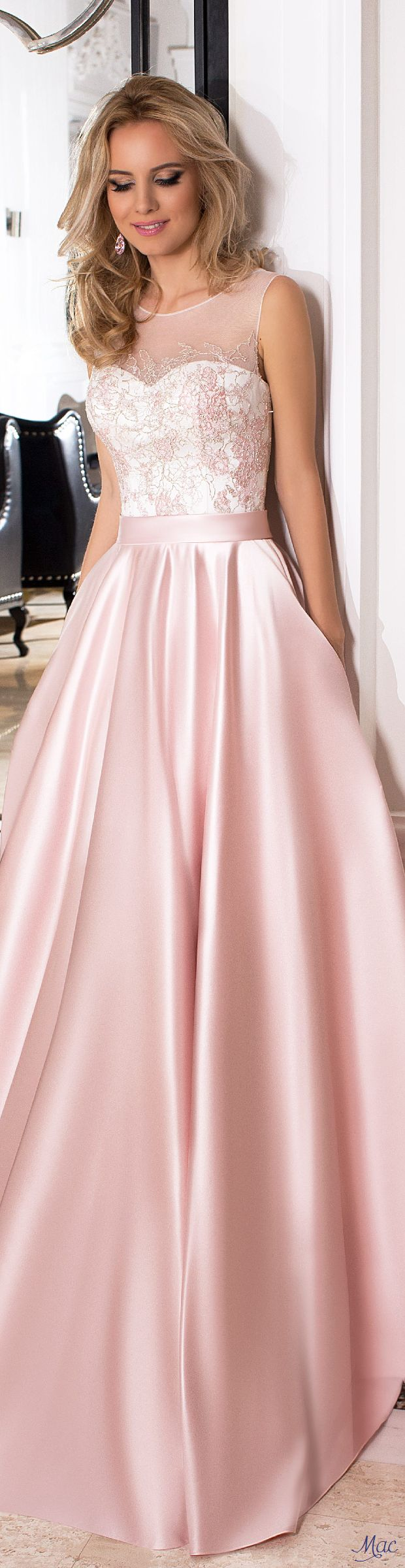 607 best Pretty in Pink images on Pinterest | Ball gowns, Grad ...