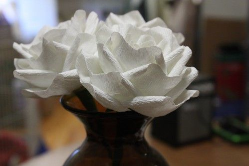 DIY How to make paper roses tutorials
