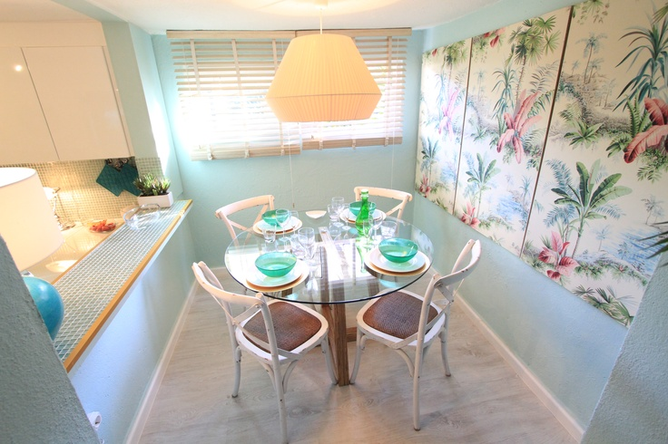 Tropical House Project by Ana Antunes - for Tv Makeover Show - tropical wallpaper