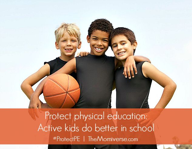 Do you know if your kids are getting enough PE?  Whether due to financial constraints or the demands of a rigorous curriculum, many schools across the country have reduced or altogether eliminated physical education. Because students spend six hours or more in school each day, they need more opportunities for physical activity throughout the school day.  #ProtectPE #IncludePE #PhysicalEducation #education #school #PE #exercise