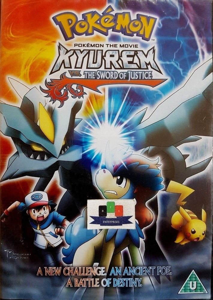 Details About Pokemon The Movie Kyurem Vs The Sword Of Justice