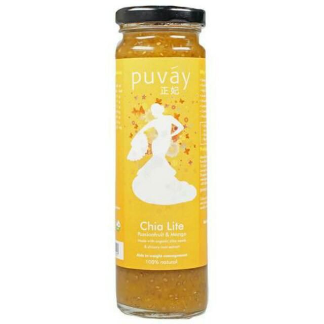 Buy Puvay Chia Lite (Passionfruit Mango) in Singapore,Singapore. Chia Lite - Natural Weight Management & Satiety Beverage  Aids in weight management Delays hunger & provides satiety High in dietary fibre Lower in calorie & su Chat to Buy