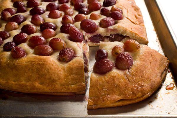 Grape and Grappa Focaccia (Schiacciata con l'uva)