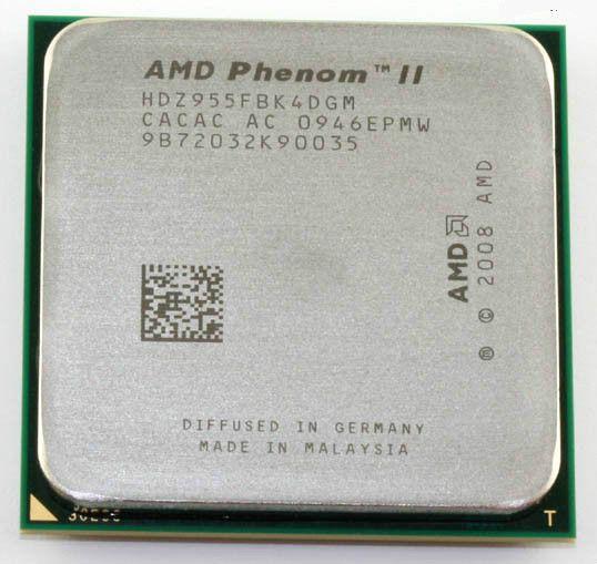 Free Shipping For AMD Phenom II X4 955 3.2Ghz L3=6MB Quad-Core Processor Socket AM3