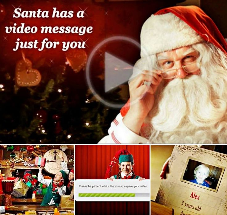 Santa's Video Message