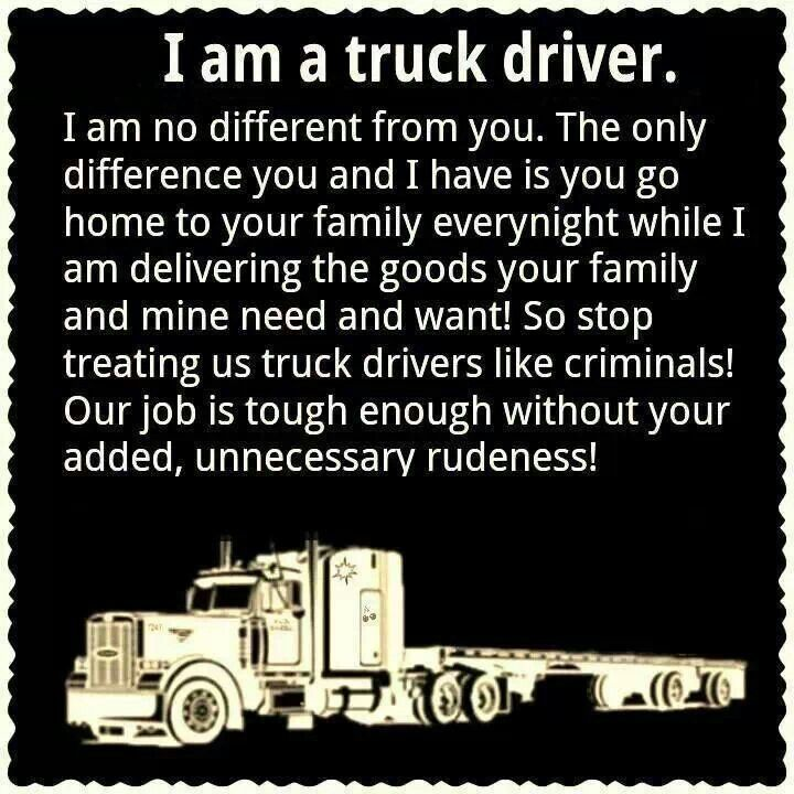 Quotes About Truck Driving. QuotesGram
