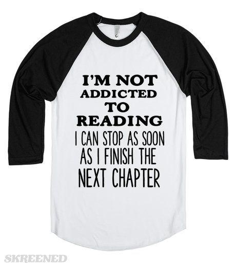 I'M NOT ADDICTED TO READING |  | SKREENED