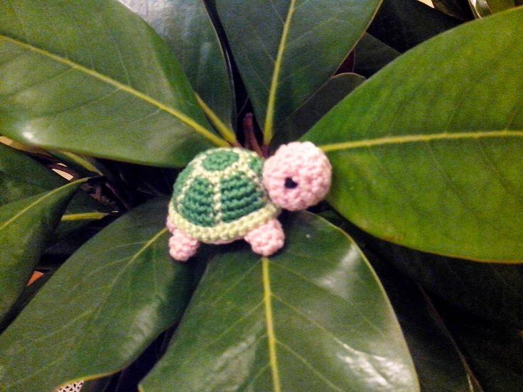 CREAZIONI FIOPI: Amigurumi Little Crochet Turtle.........