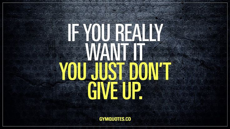 Gym Quotes Motivational video: If you really want it you just dont give up.