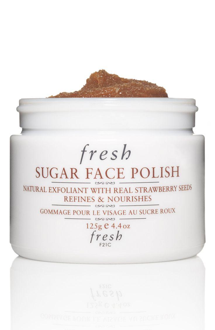 Sugar face scrub.