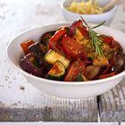Een heerlijk recept: Ratatouille van paprika courgette aubergine en tomaat