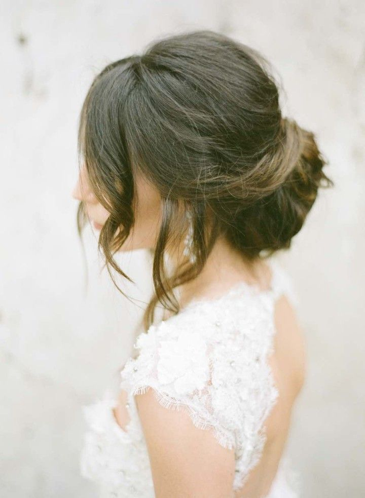 wedding hairstyle idea; KT Merry